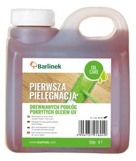 Olej pielęgnacyjny do podłóg pokrytych olejem UV