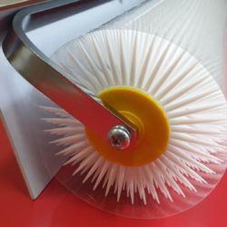 Wałek do mas z kolcami 31x500 mm Romus 94248